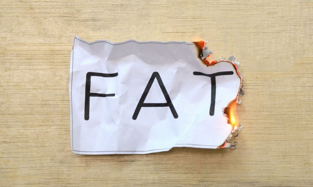 get into ketosis and burn your own fat