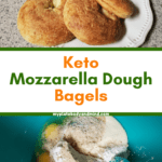 Keto Mozzarella Bagels