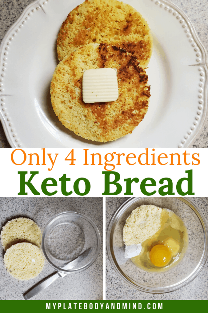 90 Seconds 4 Ingredients Keto Bread