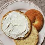 Keto Mozzarella Bagels With Cream Cheese