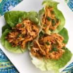 lettuce chicken wrap