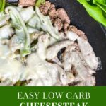 low carb cheesesteak wrap