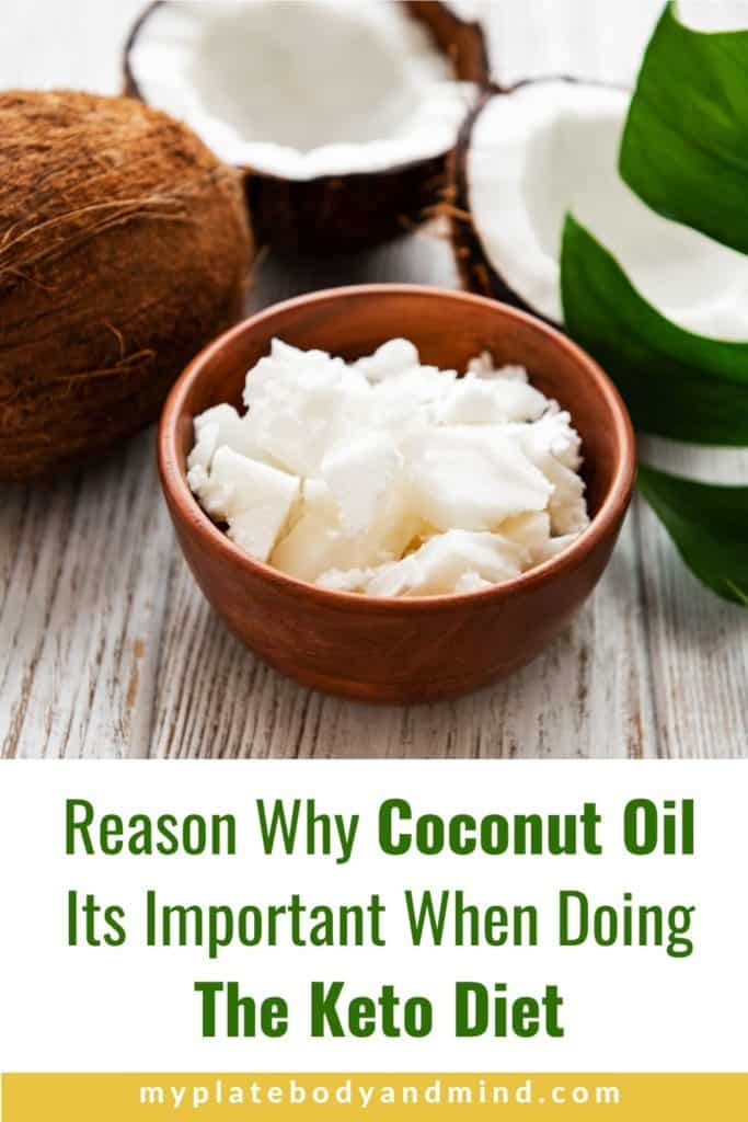 coconut oil on the keto diet
