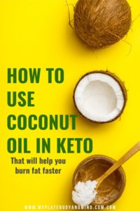 learn how to use coconut oil in keto