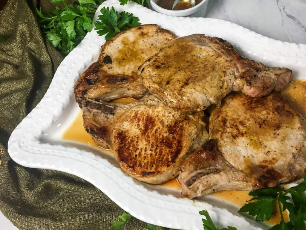 low carb pork chops