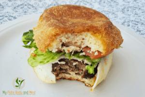 keto low carb burger bun