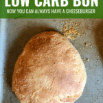 keto cheeseburger bun, low carb
